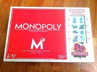 Negotiable (80th Anniversary Edition!!) Monopoly
