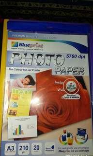 •NEW• Blueprint Photo Paper A3