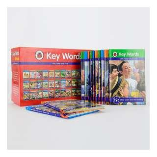 Ladybird Key Words with Peter and Jane Collection Book Set (36 Books) (Ladybird Keyword)