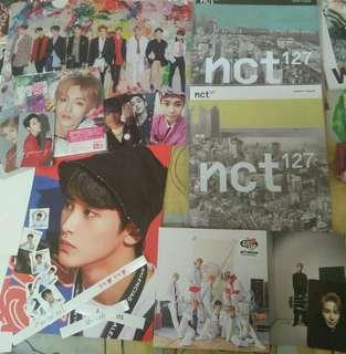 Nct albums and photocards