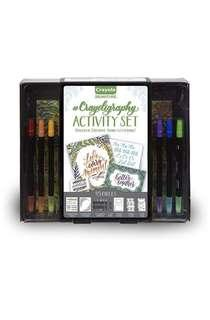 Crayola Beginner Hand Lettering Kit with Tutorials, Easier Than Calligraphy, 45 Pieces  Crayola Beginner Hand Lettering Kit with Tutorials, Easier Than Calligraphy, 45 Pieces