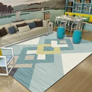 [20款可挑!!][大尺寸地毯]北歐風地毯 客廳地毯 臥室地毯 踏墊床邊地墊 不脫線 不脫毛 超防滑