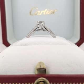 Cartier 1895 Diamond Ring - 0.40ct F VVS1