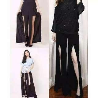 Furing pants celana chiffon import