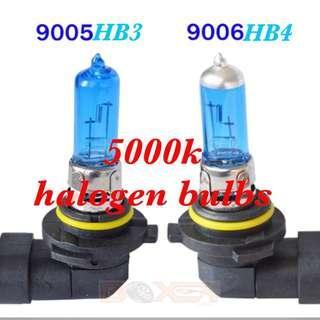 9005/ 9006 halogen bulbs