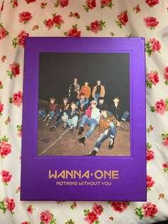 WANNA ONE NOTHING WITHOUT YOU WANNA VERSION FULL SET