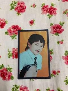 JEONGIN CHILDHOOD PHOTOCARD