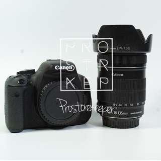 Canon 600D + Canon EF-S 18-135mm f3.5-5.6 IS Kit
