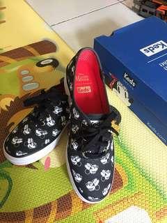 sepatu Keds Triple minnie Black
