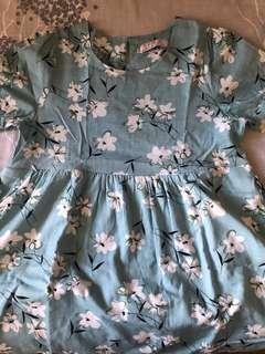 Floral Babydoll Top Maternity