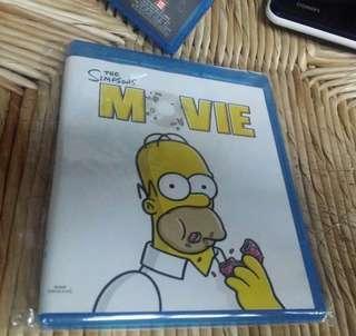 Payme 二手 Blu Ray Disc the Simpsons MOVIE bluray 藍光碟 有中文字幕