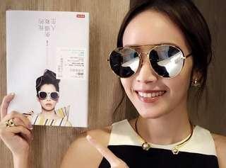 侯佩岑同款墨鏡 韓國時尚品牌 fake me 小臉墨鏡