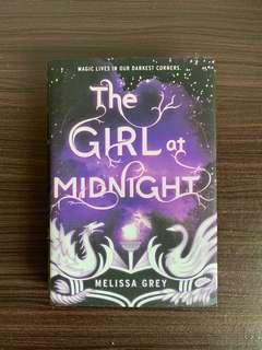 The Girl at Midnight by Melissa Grey YA FANTASY