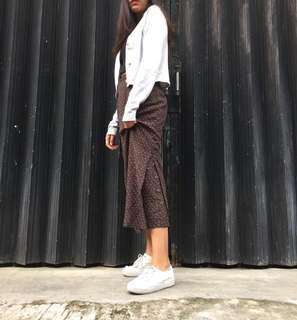 Long Flower Skirt