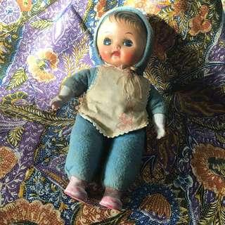 (Sold) Collectible vintage doll