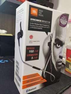JBL Synchros Reflect BT In-ear Sport Wireless Bluetooth Headphones