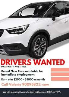 *Drivers Wanted*