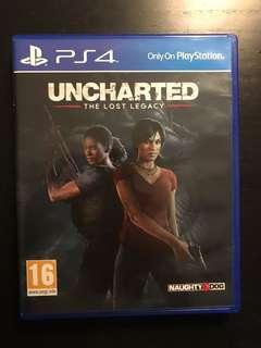 Uncharted: Lost Legacy PS4