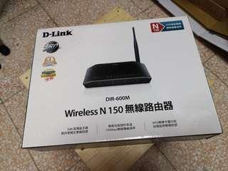 🚚 無線分享器D-link DIR-600M N150 +  無線網路卡USB TOTO LINK N150USM