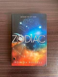 Zodiac by Romina Russell YA FANTASY
