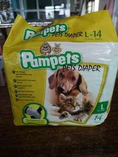 Pampets Female dog diapers (large)