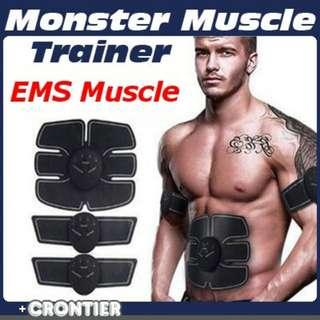 Unisex Smart Abdominal Muscle Trainer Sticker Gel Pads Body Sculpting Massager Stimulator Pad Fitness Gym Arm Sports Stickers Reliable Performance Fitness & Body Building
