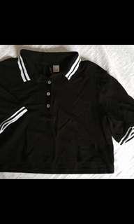 <SALE> H&M crop jersey