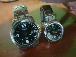 🚚 Casio Couple Watch