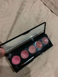 Makeup forever soft pink lip pallete