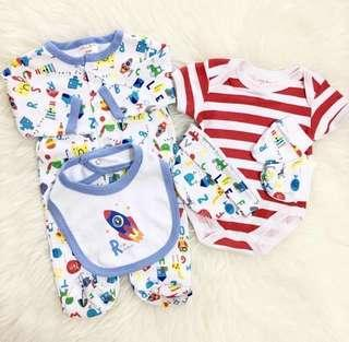 5 in 1 Baby Sleepsuit