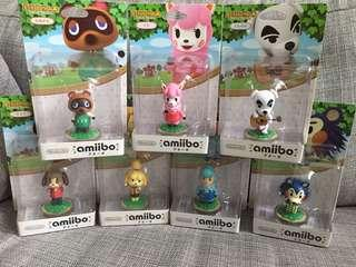 Japan Amiibo Figure Nintendo Animal Crossing 動物之森