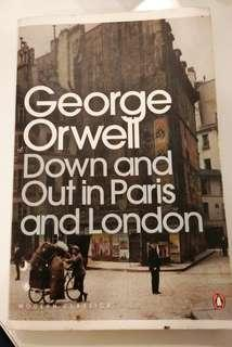 Down and Out in Paris & London by George Orwell