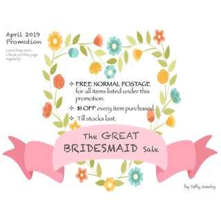 🚚 (Coming Soon) THE GREAT BRIDESMAID SALE!!!