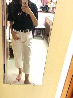 🚚 八分直筒牛仔褲