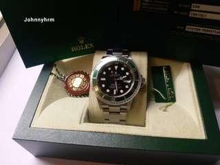 Rolex 16610lv Submariner 綠圈原裝砂888
