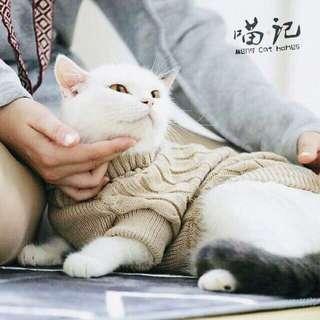寵物針織毛衣 貓毛衣 狗毛衣 毛小孩