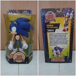 28cm Sonic the Hedgehog 2011 20th Anniversary Edition with Box