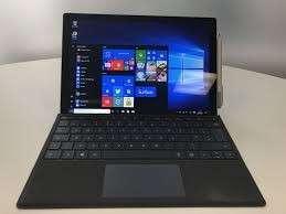 Microsoft surface pro 5 with keyboard