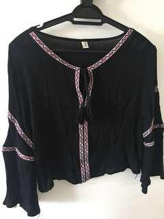 Bohemian Top blouse