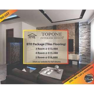 BTO (3/4/5 Room) Renovation Package
