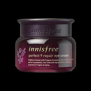 🚚 Innisfree Perfect 9 Repair Eye Cream 30ML