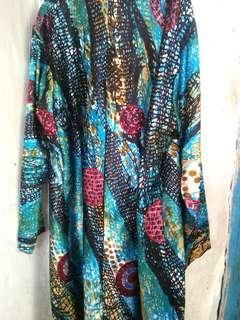 Dresss motif panjang
