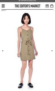 Pimm-Tie Button Dress