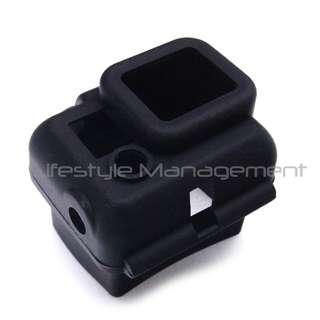 Gopro Silicone Case 3/3+/4  SJ Cam SJ5000 Protective Lens Housing Cap Cover