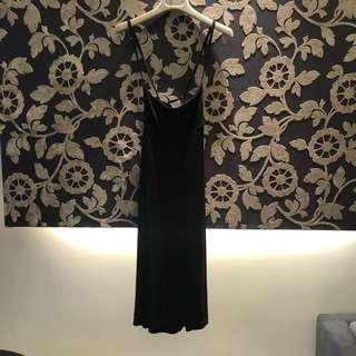 🚚 澳洲Miss Shop 黑色洋裝 XS號