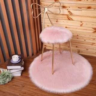 Table Chair OR Bar Stool (furry floor mat available)