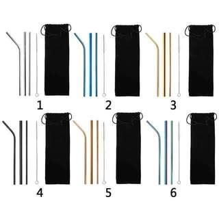 Reuseble stainless straw