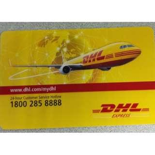 DHL Netsflash Card