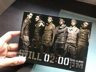 2PM mini album <Still 02:00pm>