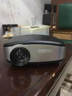 Lcd Projector Cheerlux, Usb, Hdmi, Kondisi Ok, Siap Pakai